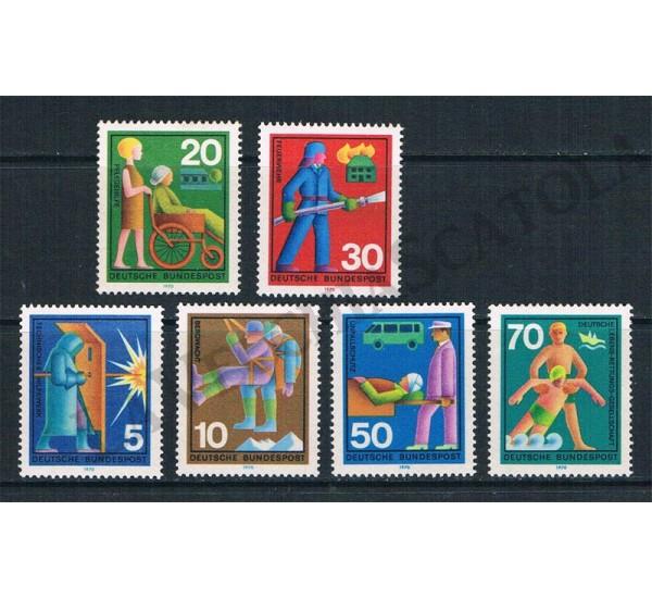 1970 Germania Soccorso Volontario MNH/**