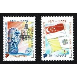 2006 Singapore congiunta Vaticano relazioni diplomatiche