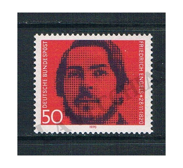 1970 Germania Friedrich Engels MNH/**