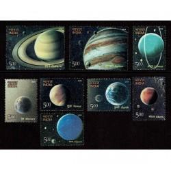 2018 India Pianeti del Sistema Solare MNH/**