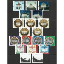 2000-2008 Vaticano collezione francobolli Automatici