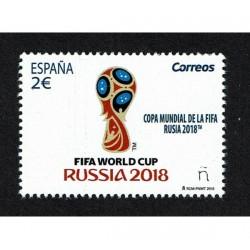 Spagna FIFA 2018 Mondiali di Russia MNH