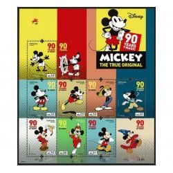 2018 Portogallo 90° anniversario di Mickey Mouse Disney MNH