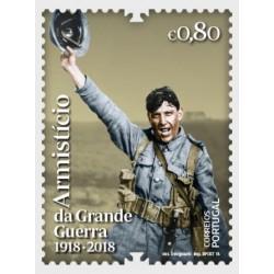 2018 Portogallo Armistizio Prima Guerra Mondiale serie MNH