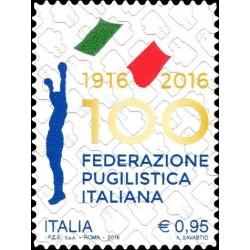 2016 Federazione pugilistica italiana MNH