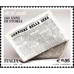 """2016 quotidiano """"Corriere della Sera"""" MNH"""