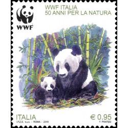 2016 50º anniversario fondazione del WWF MNH