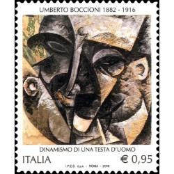 2016 morte di Umberto Boccioni MNH