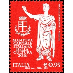 2016 Mantova capitale italiana cultura 2016 MNH