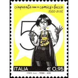 2016 Cinquantesima edizione di Lucca Comics MNH