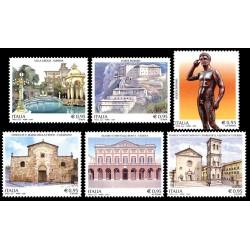 2016 Patrimonio artistico e culturale italiano MNH