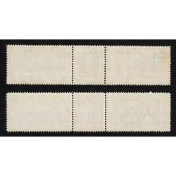 1933 Trittici 'I-ROVI' Crociera nordatlantica Balbo MNH/**