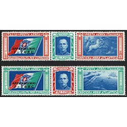 1933 Trittici 'I-VERC' Crociera nordatlantica Balbo MNH/**