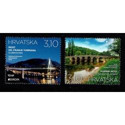 2018 Croazia serie Europa (postEurope) - i Ponti
