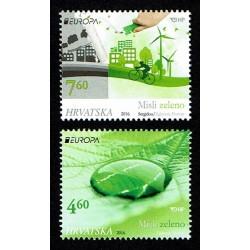 2016 Croazia Europa Think Green MNH/**