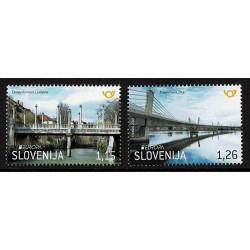 2018 Slovenia serie Europa i Ponti MNH