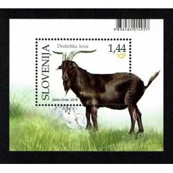 2018 Slovenia Fauna tipica - foglietto capra