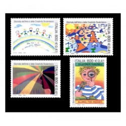 2001 Giornata arte e creatività studentesca MNH/**