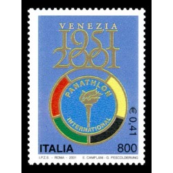 2001 costituzione panathlon international MNH/**