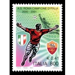 2001 Roma campione d'Italia 2000-2001 MNH/**