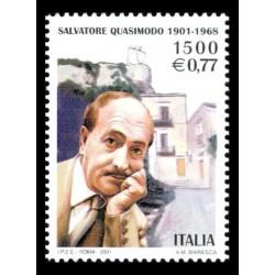 2001 Centenario nascita Salvatore Quasimodo MNH/**