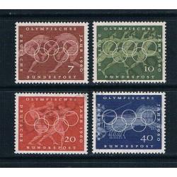 1960 Germania Giochi Olimpici di Roma MNH/**
