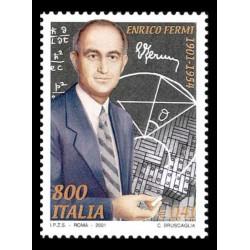 2001 Centenario nascita Enrico Fermi MNH/**