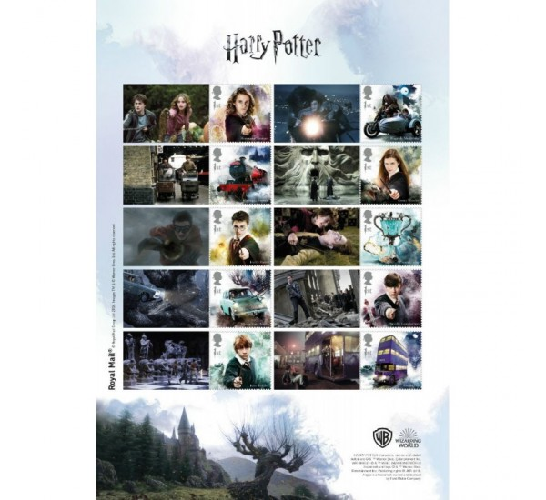2018 Gran Bretagna Harry Potter Presentation Pack + Smiler