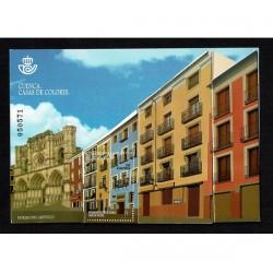 2018 Spagna Pratrimonio artistico CUENCA unusual stamp