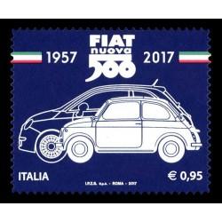 2017 produzione della Fiat nuova 500