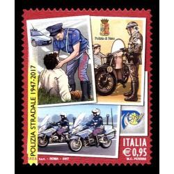 2017 anniversario della polizia stradale