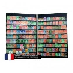 Collezione Francia oltre 1000 francobolli anche classici