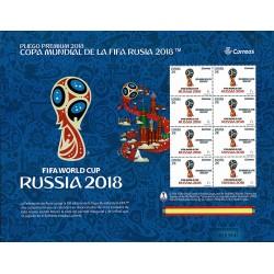 2018 Spagna Minifoglio Fifa 2018 Mondiali di Russia