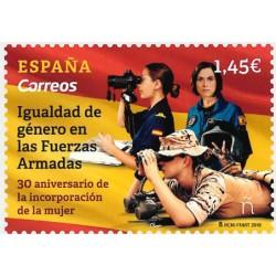 2018 Spagna Donne nelle Forze Armate MNH
