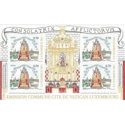 2016 Lussemburgo Congiunta Vaticano Vergine Maria