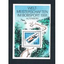 1991 Germania Foglietto Altemberg MNH/**