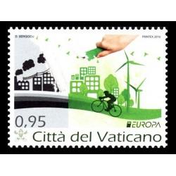 2016 Vaticano serie Europa Think Green