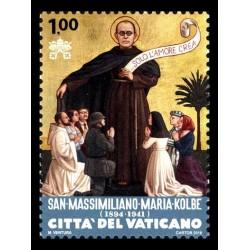 2016 Vaticano S.Massimiliano Maria Kolbe