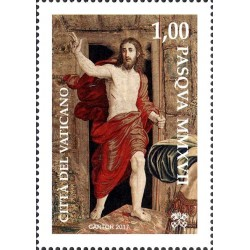 2017 Vaticano Emissione per Pasqua serie