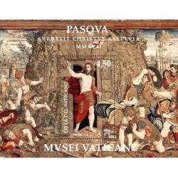 2017 Vaticano Emissione per Pasqua Foglietto