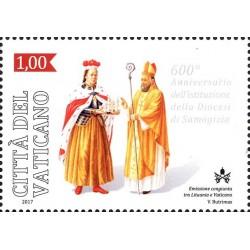 2017 Vaticano diocesi Samogizia congiunta Lituania