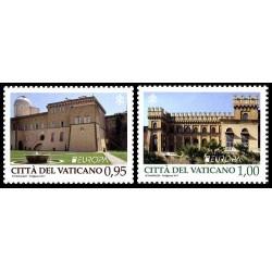 2017 Vaticano emissione Europa tematica Castelli (postEurop)