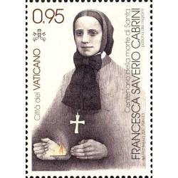 2017 Vaticano S.Francesca Saverio Cabrini