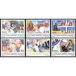 2017 Vaticano Viaggi del Papa