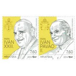 2014 Croazia Canonizzazione Papi Giovanni Paolo II e Giovanni XXIII