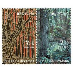 2011 Croazia serie Europa - Le Foreste