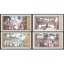 2002 Vaticano Cappella Sistina restaurata