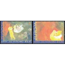 2002 Vaticano serie Europa (PostEurop)
