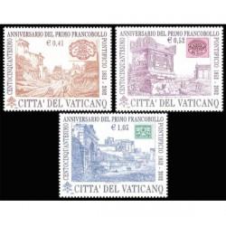2002 Vaticano primo francobollo pontificio