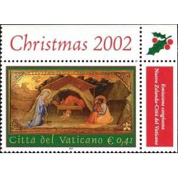 2002 Vaticano emissione per il Natale
